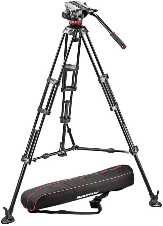 Manfrotto MVH502A,546BK-1 Professional Fluid Fluid Head Tripod