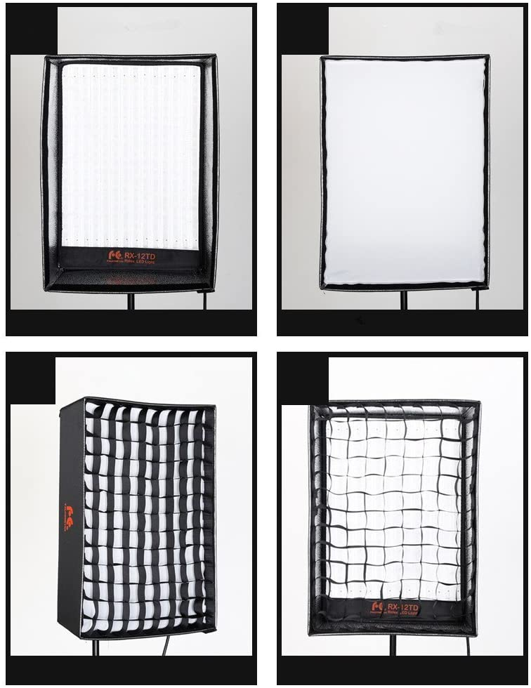 Falcon Eyes Flexible LED Light with Softbox and Grid